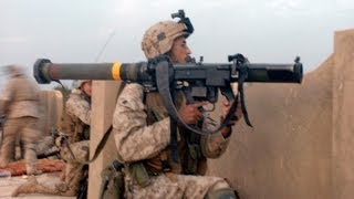 us marines s m a w gunner fires rocket at taliban stronghold real combat footage