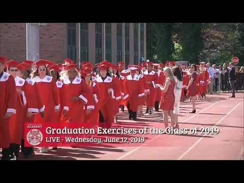 Norwich Free Academy 2019 Graduation Ceremony