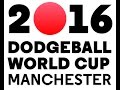 2016 Dodgeball World Cup - Women's Qualifying Match - Court 1