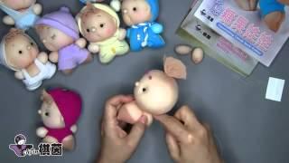 Китай, урок - делаем куклу из чулка своими руками