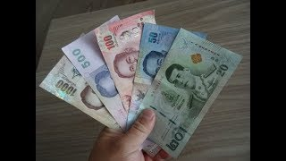 Gambar cover Quick & Easy way to learn Thai Baht to USD.