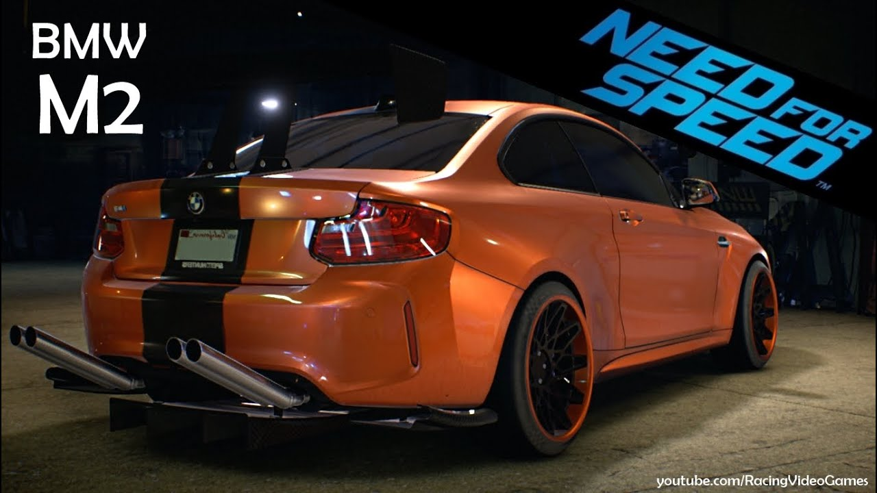 need for speed 2015 bmw m2 coup 2016 gameplay video. Black Bedroom Furniture Sets. Home Design Ideas