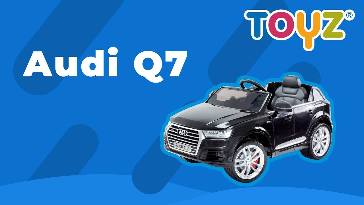 Samochód na akumulator - Toyz Audi Q7 - YouTube