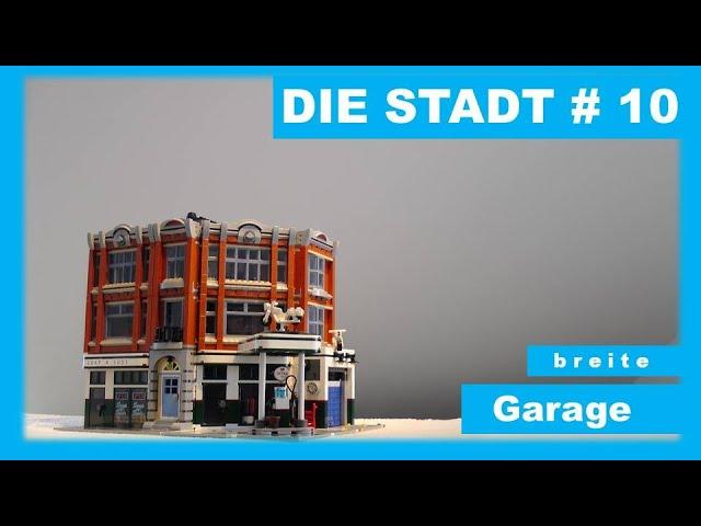 Die Stadt # 10 - breite Garage