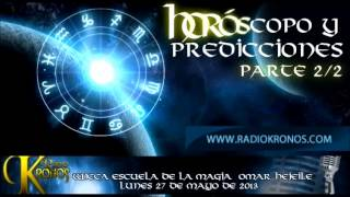 ORÁCULO: HORÓSCOPO Y PREDICCIONES parte 2/2