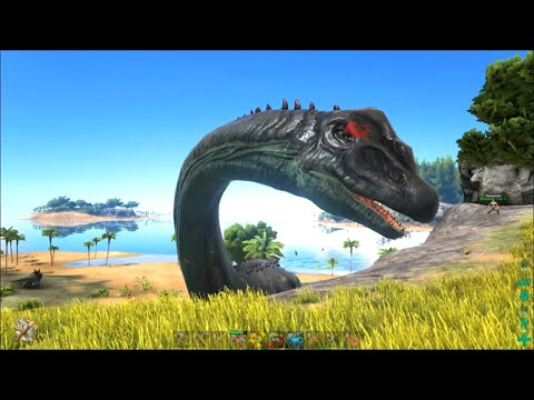 Video clip hay ark survival evolved 26 penguins amp angler for Angler fish ark