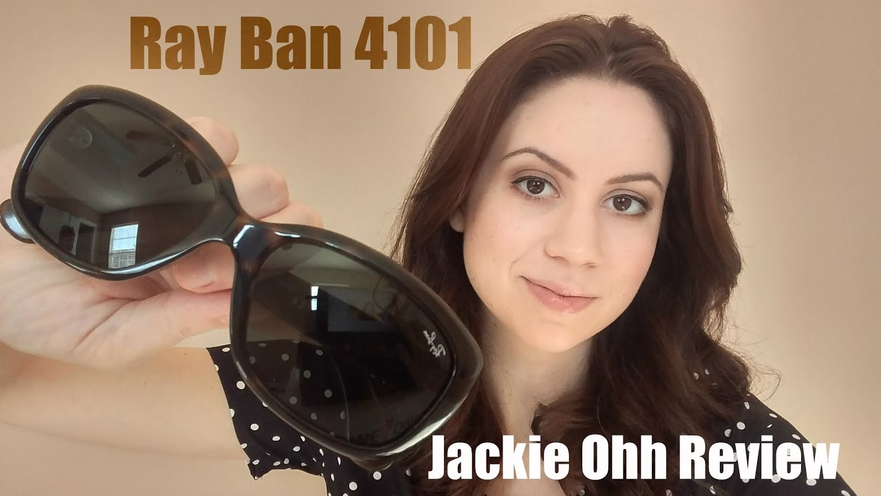 8bba48242d Ray Ban Jackie Ohh 4101 Review 2.0 + outtakes at the end - YouTube
