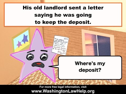 Getting Your Security Deposit Back | WashingtonLawHelp org | Free