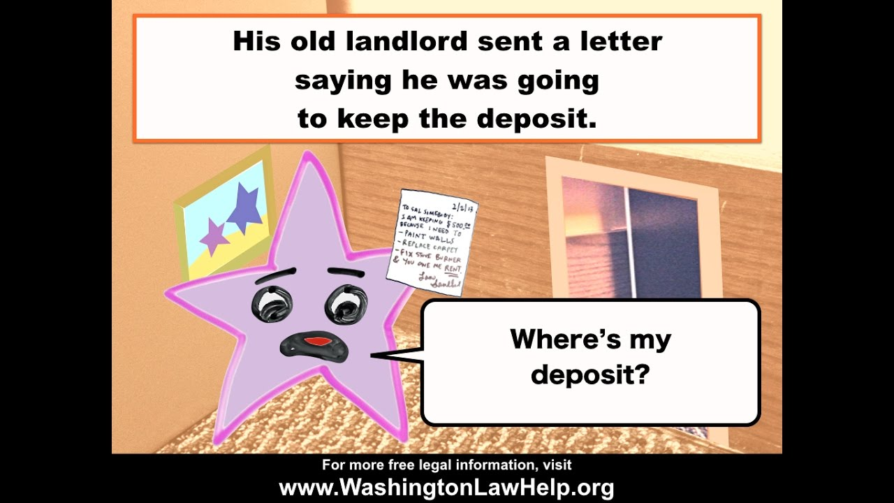 Getting Your Security Deposit Back | WashingtonLawHelp org