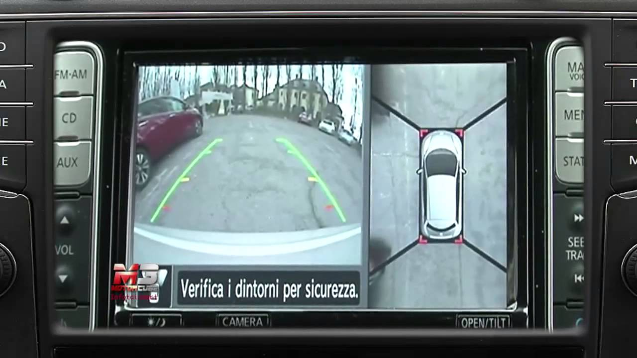 Nissan Leaf Around View Monitor Youtube