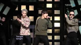 Big Bang - Tonight (2011.03.06 popular song)