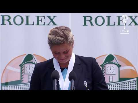 Kim Clijsters - ITHF 2017 Induction - Full Speech
