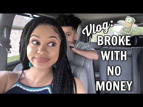 Vlog   Broke, With No Money thumbnail