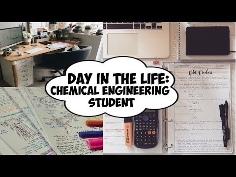 Day In The Life - 1st Year Chemical Engineering Student 2017