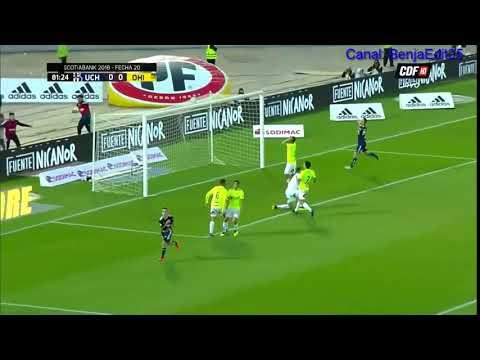 Gol Yeferson Soteldo / Universidad De Chile 1 Vs 0 O`Higgins - Campeonato Scotiabank 2018