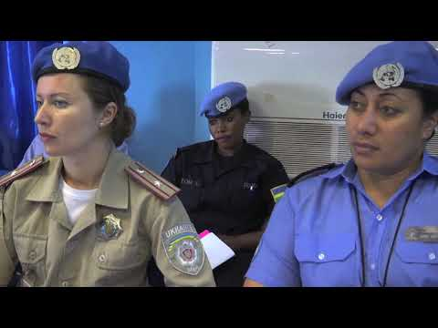 Women peacekeepers trained to help restore security in South Sudan