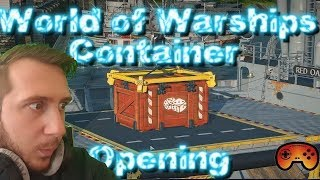 69 Container Opening in World of Warships - Gameplay - German/Deutsch - Super Container