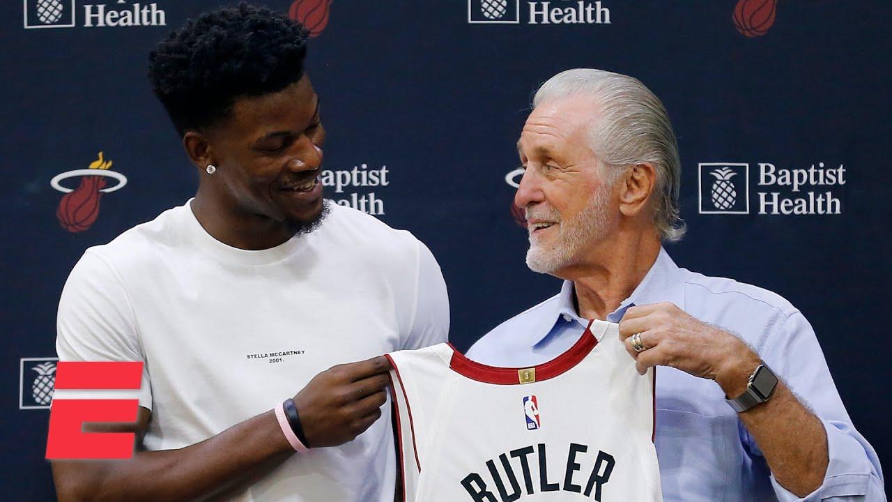 Max Kellerman on the Heat: Pat Riley's leadership, Erik Spoelstra's coaching & Jimmy Butler's grit - YouTube