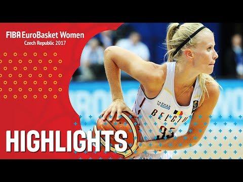 Belgium v Italy - Highlights - Quarter-Final - FIBA EuroBasket Women 2017