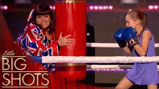 World Record Kazakhstani Speed Boxer Gets Dawn Excited Speaking Russian | Little Big Shots