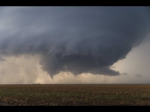 INCREDIBLE Mothership Supercell and Tornadoes with BREATH-TAKING TIMELAPSE - Leoti, KS - 05/21/16