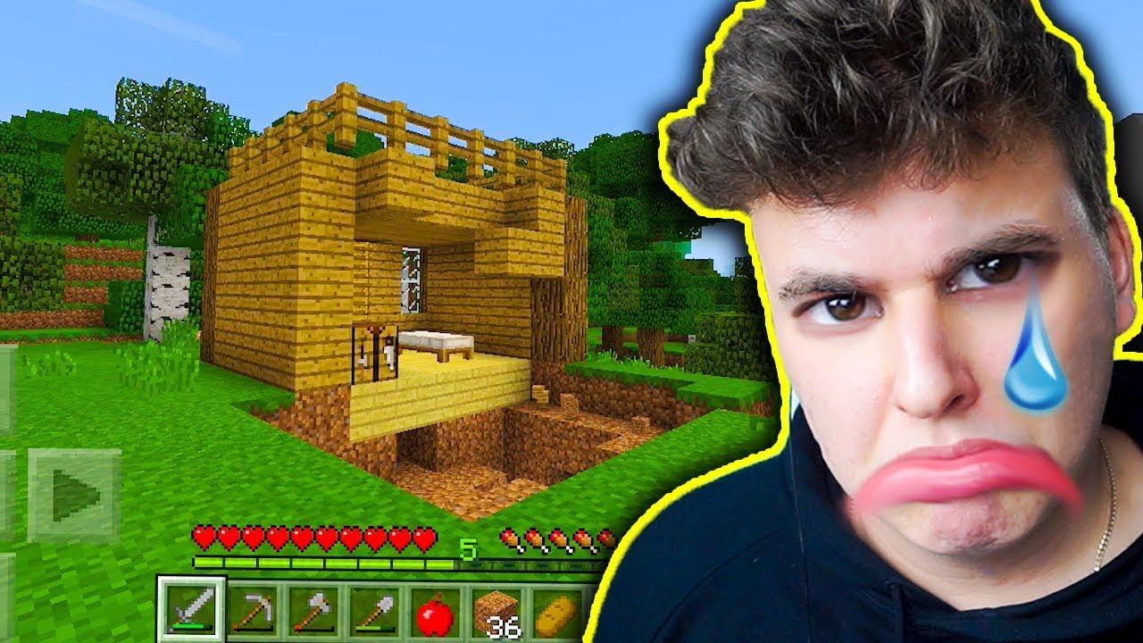 Minecraft na Telefon – ROZWALIŁ MI DOOOM!!!! #3 + [KONKURS]