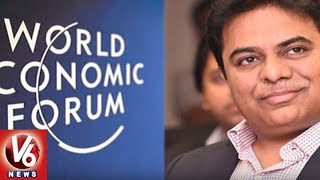 Minister KTR Invited To World Economic Forum Meet In Davos | Hyderabad | V6 News
