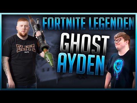 ???? FORTNITE LEGENDEN: GHOST AYDAN  | Fortnite Battle Royale