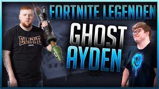 🏆 FORTNITE LEGENDEN: GHOST AYDAN    Fortnite Battle Royale