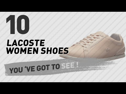 Lacoste Women Shoes // New & Popular 2017