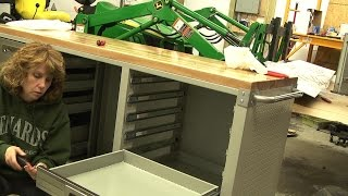 Seville UltraHD 12-Drawer Rolling Workbench/Toolbox Unboxing, Assembly, and Review