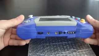 GC - Lynx, The Atari Lynx Shaped Gamecube Portable