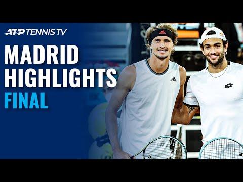 Alexander Zverev vs Matteo Berrettini | Madrid 2021 Final Highlights