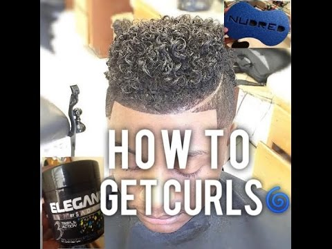 how to style curly hair with gel how to get curls using curl sponge and elegance gel 3829 | hqdefault