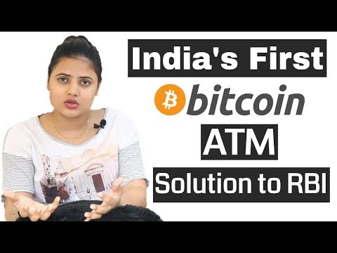 India's First Bitcoin ATM | Solution To RBI Banking Ban