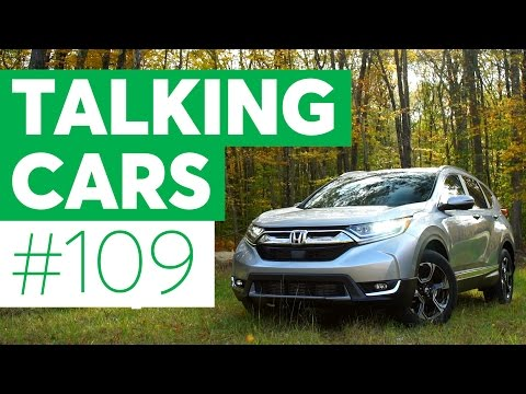 Talking Cars with Consumer Reports #109: Honda CR-V and Volkswagen Golf Alltrack