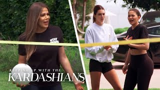 "It's Kardashians vs. Jenners in a ""KUWTK"" Volleyball Game! 