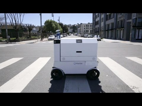 San Francisco lawmaker wants to hit the brakes on robot delivery