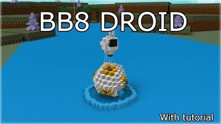 Working bb8 robot | ROBLOX Build A Boat For Treasure