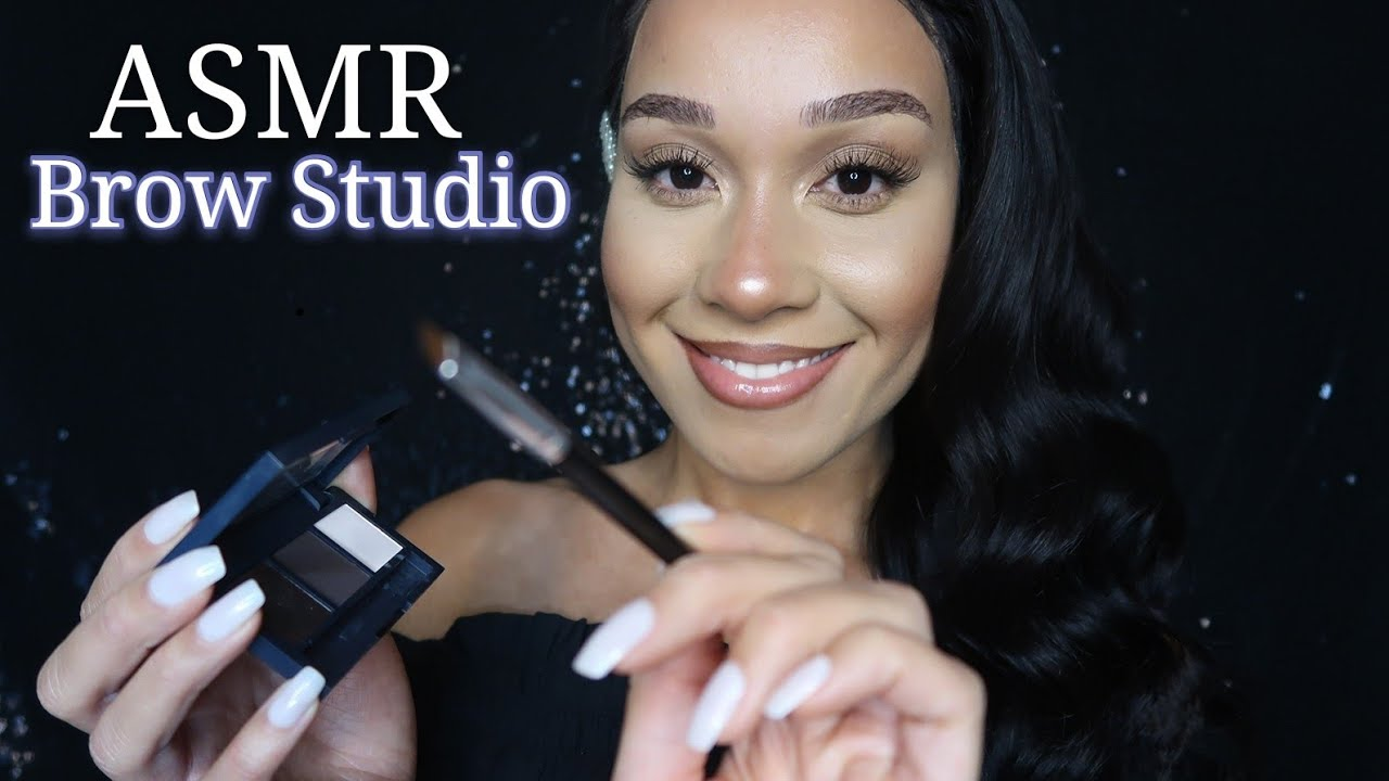 ASMR Dreamy Brow Studio RP| Trim & Shaping Your Eyebrows