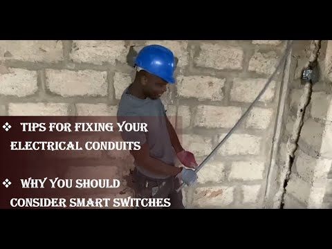 Cost of Building in Ghana - Episode 9 - Electrical Conduits