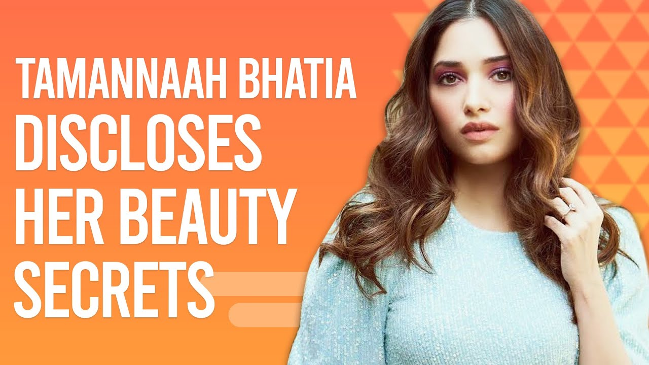 Tamannaah Bhatia spills her beauty secrets, DIY home remedies for pimples, skincare routine & more