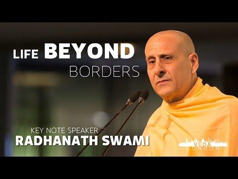 Life Beyond Borders - Radhanath Swami | Veda London