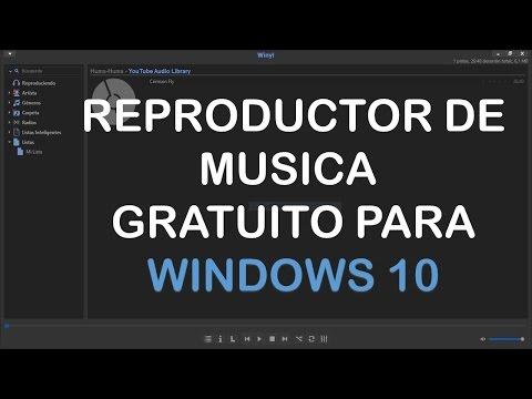 Reproductor de Musica gratuito para Windows 10