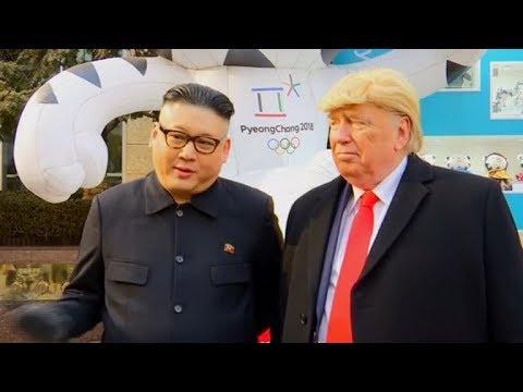 Nobody wants war, says Kim Jong-un impersonator