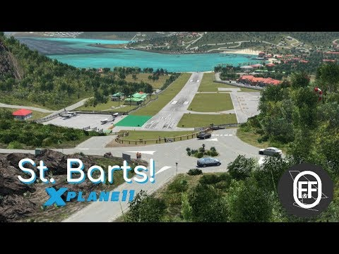 NEW St. Barts For X-Plane 11!