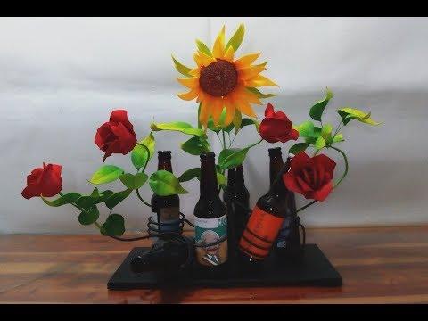 Arreglo Floral Con Cervezas