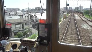 阪急3300系 110㎞/hで爆走