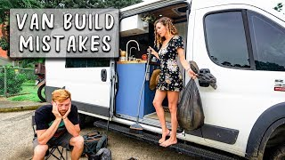 5 Things We HATE about our Custom Camper Van