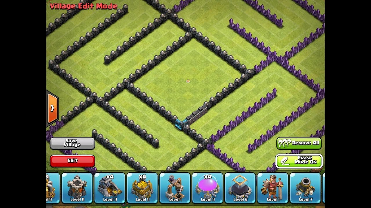 Clash of clans 5 top th10 bases youtube